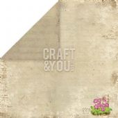 Craft & You 12x12 Scrapbook Paper - Spring Garden 05 - SG05